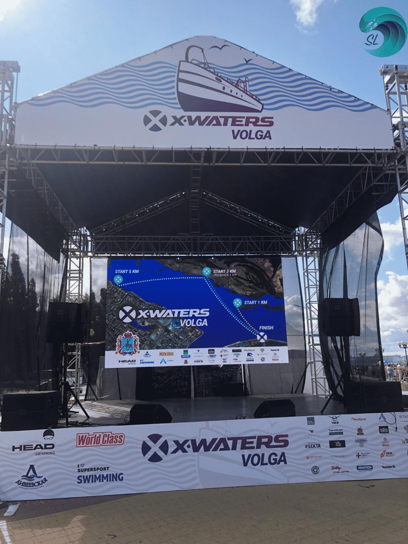 Соревнования на открытой воде X-waters в Нижнем Новгороде 28.07.19