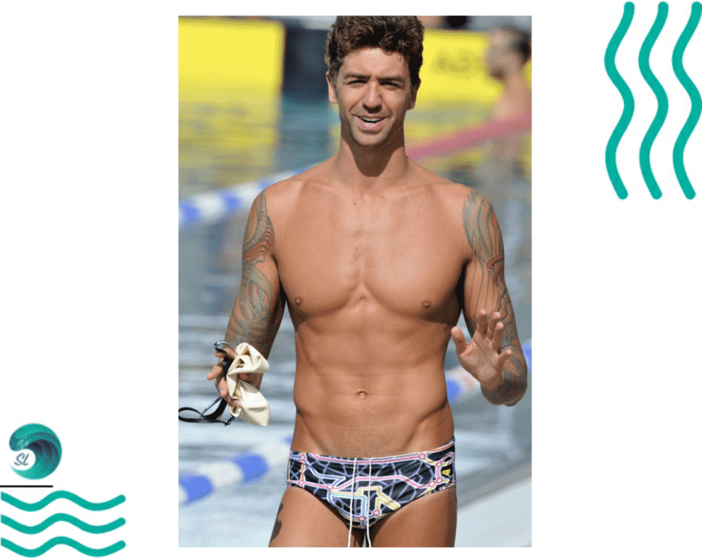 Татуировки у пловцов. Энтони Эрвин